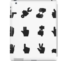 Hand an icon iPad Case/Skin
