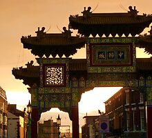 Chinese Gate, Liverpool by artfulvistas