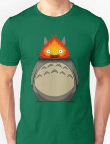 Totoro Meets Calcifer T-Shirt