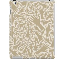 Hand background iPad Case/Skin