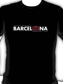 Barcelona Honest Logo Tourist T-Shirt