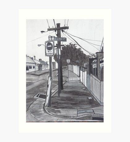 Perspectives Art Print