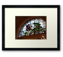 St George and the Dragon, St Georges Hall, Liverpool Framed Print