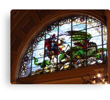 St George and the Dragon, St Georges Hall, Liverpool Canvas Print
