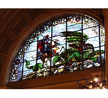 St George and the Dragon, St Georges Hall, Liverpool Photographic Print