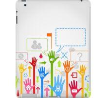 Hand business iPad Case/Skin