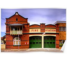 Fire Station Poster