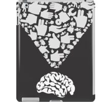 Hand from brain iPad Case/Skin
