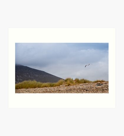 Soaring above Achill Art Print