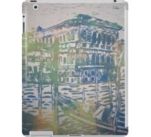 Venice in Screen print iPad Case/Skin