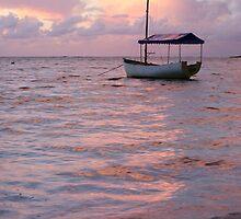 Raro dawn - Cook Islands by Jenny Dean