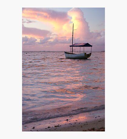 Raro dawn - Cook Islands Photographic Print