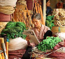 Rope Shop, Hanoi Northern Vietnam by Kristi Robertson