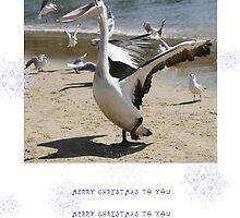 Happy Christmas by Kim Roper