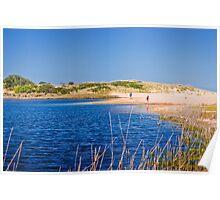 Lake Tyers Beach Poster