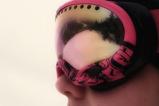 Ski Goggles by Laura Sanders