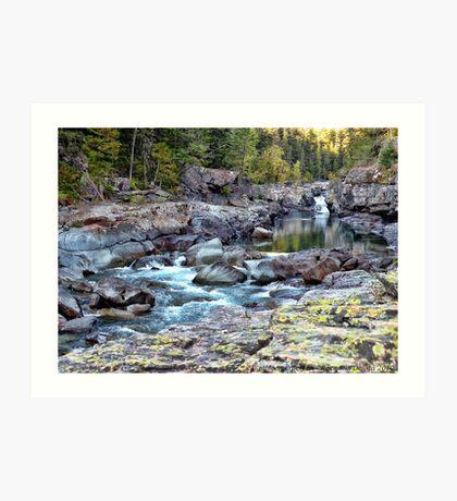 MacDonald Creek 4 Art Print