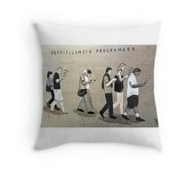 Obsolete programme....  Throw Pillow