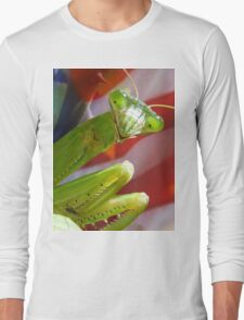 """Praying Mantis - """"Stand Your Ground"""" Long Sleeve T-Shirt"""