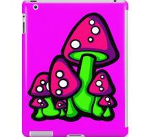 Mushrooms Pink and Purple iPad Case/Skin