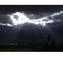 Light in the storm Photographic Print