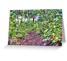 Path to the River Greeting Card
