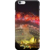 Sydney New Years Fireworks  iPhone Case/Skin