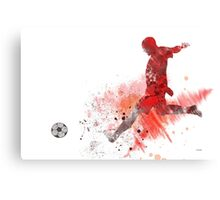 Soccer Player 1 Canvas Print