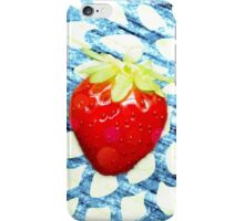 Summer pop - pattern blue iPhone Case/Skin