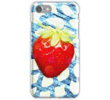 Summer pop - pattern blue iPhone Case/Skin