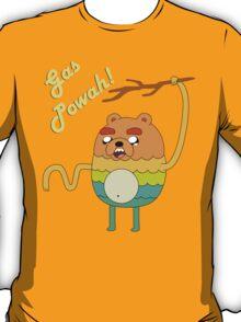Bravest Warriors Adventure Time - Bear Jake the Dog Gas Powah T-Shirt