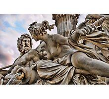 Vienna Sculpture Photographic Print