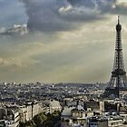 Eiffel Tower - Vanilla Sky by Gerald Oar