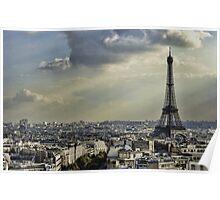 Eiffel Tower - Vanilla Sky Poster