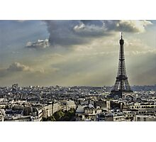 Eiffel Tower - Vanilla Sky Photographic Print