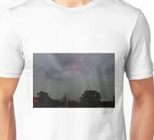 Lightening over Swan Valley Unisex T-Shirt