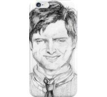 Drunk Ben Wyatt Portrait iPhone Case/Skin