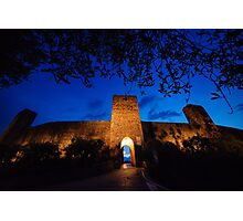 Castel Monastero, Tuscany Photographic Print
