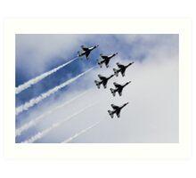 Thunderbirds Are Go! Art Print