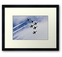 Thunderbirds Are Go! Framed Print