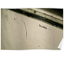 The Sling Boat Poster