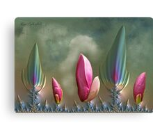 Mutant Magnolia Canvas Print