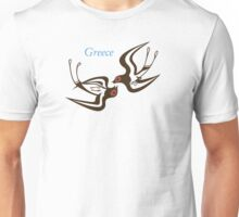 Santorini frescoes Unisex T-Shirt