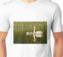 Mute Swan and Babies Unisex T-Shirt