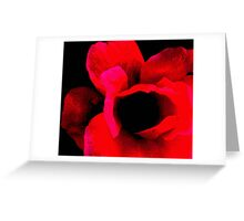 Stop and smell the flowers Greeting Card