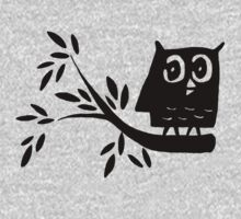 Owl on a Branch by brookexx09