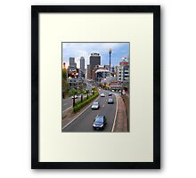 Sydney Streets Framed Print