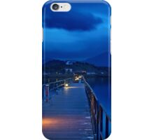 The sound of silence at Prespes lakes iPhone Case/Skin