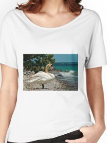 On The Shores Of Lake Ontario Women's Relaxed Fit T-Shirt