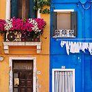 Burano, Venice Italy by Melissa Fiene